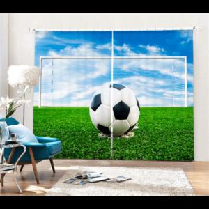 Voetbal 3D gordijnen