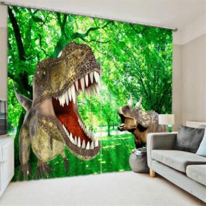 Dino TREX 3D gordijnen