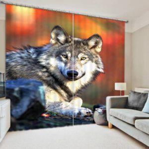Wolf gordijn
